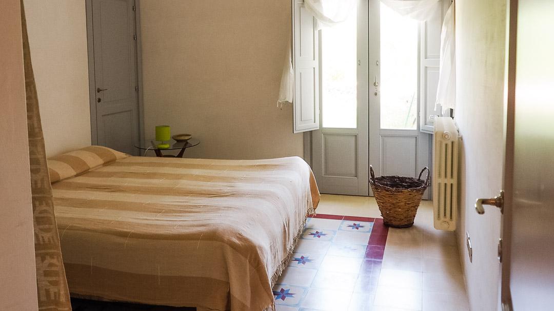 Dottato, camera da letto - Agriturismo nei Giardini di Pomona