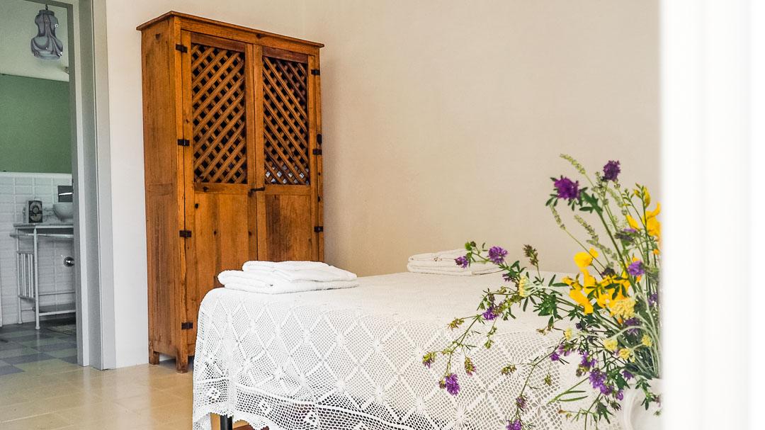 Vernèa, stanza da letto - Agriturismo nei Giardini di Pomona