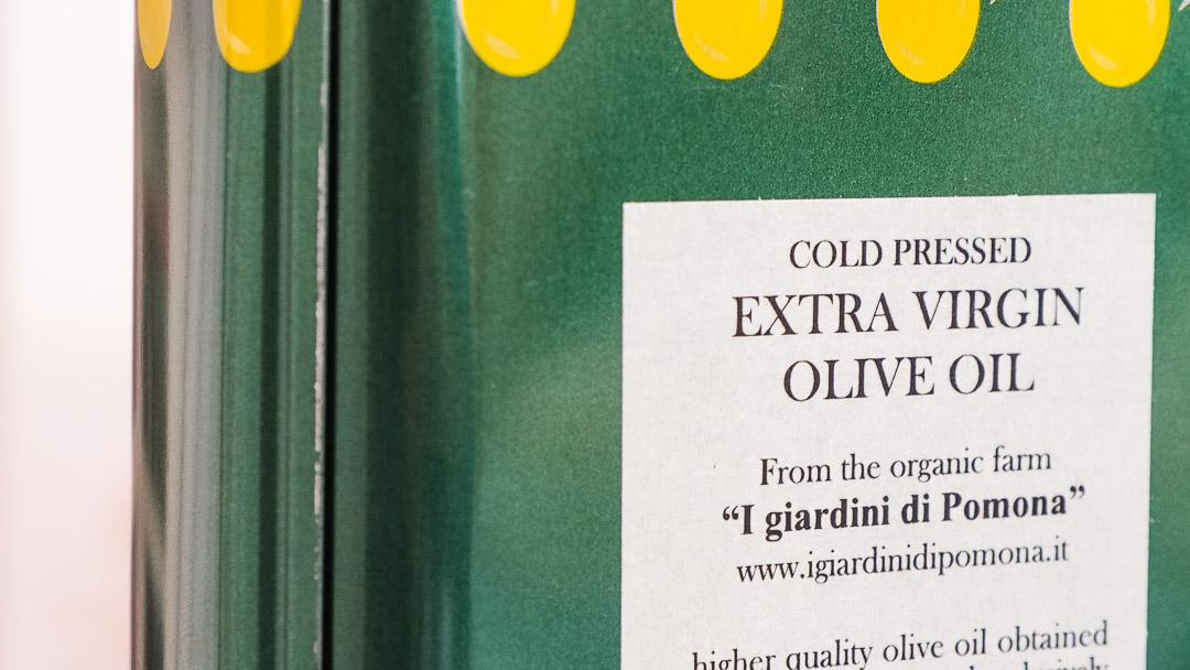 Olio extravergine di oliva - La bottega di Pomona