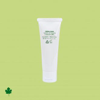 Crema mani con Ficus carica, interno retro